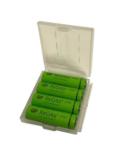 GP Gp Recyko 2700 Serisi Şarjlı Aa Kalem Pil 4+4(8'Li) Aa Şarjlı Renksiz